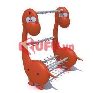 giá phơi khăn con khủng long-FF-TK37