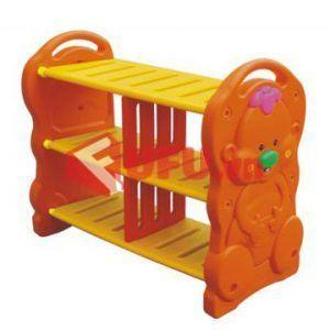 kệ đồ chơi 3 tầng con gấu-FF-TK02